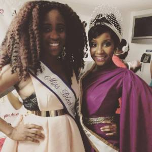 with Miss Nigeria 2015